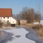 Winter an der Altmühl bei Neunkirchen, 12. Februar 2012