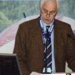 Foto (Goede): Prof. Dr. Claußen vom Max-Planck-Institut für Meteorologie und Sprecher vom ZMAW