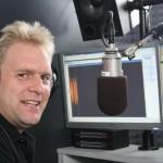 Hans-Martin Goede im Funkhaus der 107.7