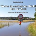Das Titelbild des Buches zum Ansbacher Wetter 1981 bis 2010