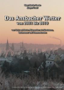 """Titelcover Buch """"Das Ansbacher Wetter 2001 bis 2010"""""""