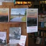 """Blick ins """"Wetterfenster"""" beim Kaspar-Hauser-Buchladen"""