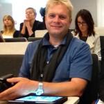 Hans-Martin Goede auf dem Extremwetterkongress 2013 in Hamburg (Foto: Green)