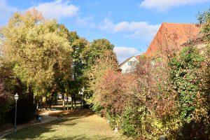 """Der Abschied vom """"goldenen Oktober"""" war in Ansbach am 26. Oktober angesagt. Foto: Hans-Martin Goede"""
