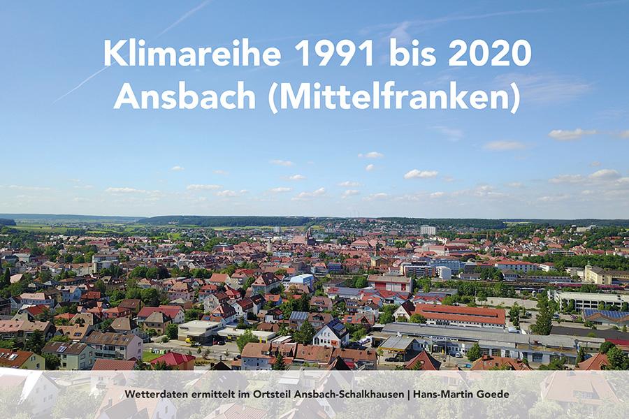 Cover Buch Klimareihe 1991 bis 2020